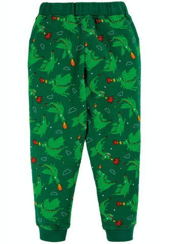 Frugi Printed Snug Joggers - Dragons