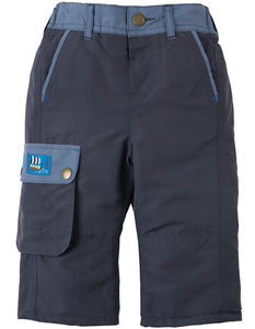 Frugi Little Expedition Trouser - Slate - Tilly & Jasper