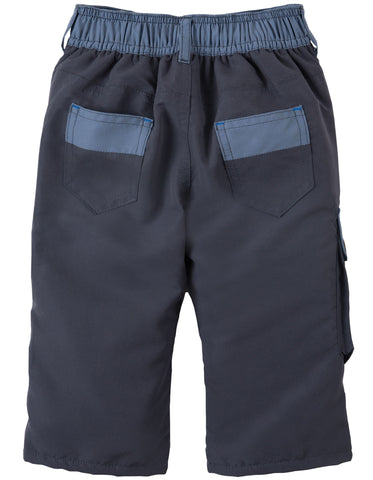 Frugi Little Expedition Trouser - Slate - Organic Cotton
