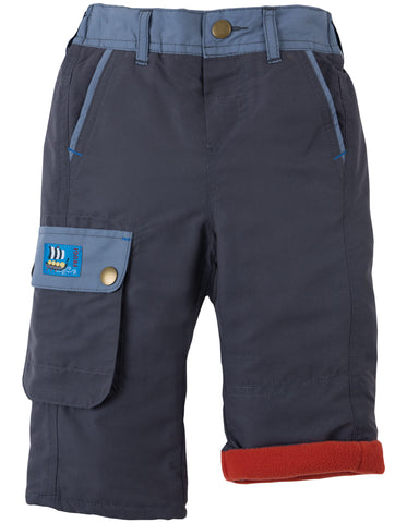 Image of Frugi Little Expedition Trouser - Slate - Organic Cotton