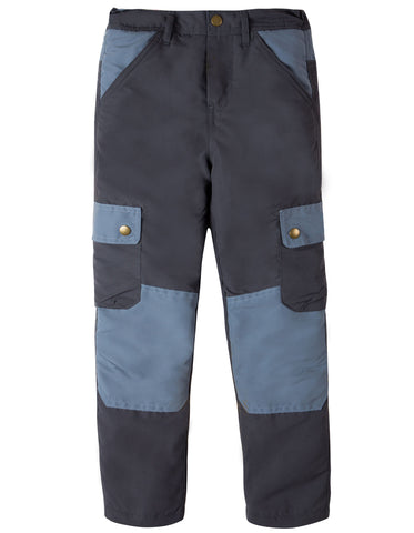 Image of Frugi Expedition Trouser - Slate - Organic Cotton