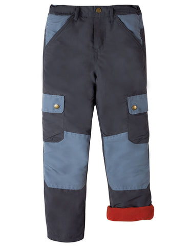 Image of Frugi Expedition Trouser - Slate