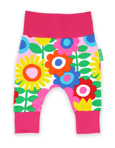 Toby Tiger Flower Power Yoga Pants - Pink