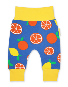 Toby Tiger Oranges and Lemons Yoga Pants