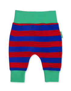 Toby Tiger Red/Blue Stripe Yoga Pants