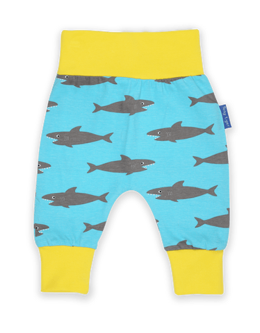Toby Tiger Yoga Pants - Shark