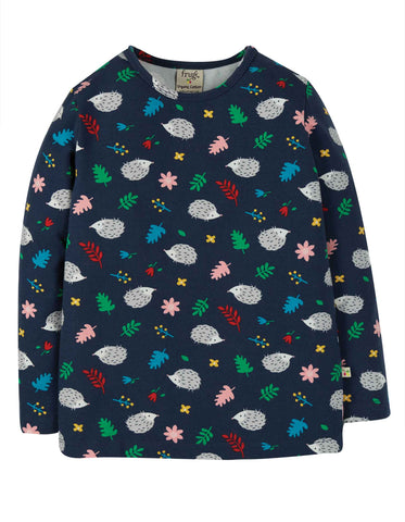 Image of Frugi Bryher Top - Hedgehogs