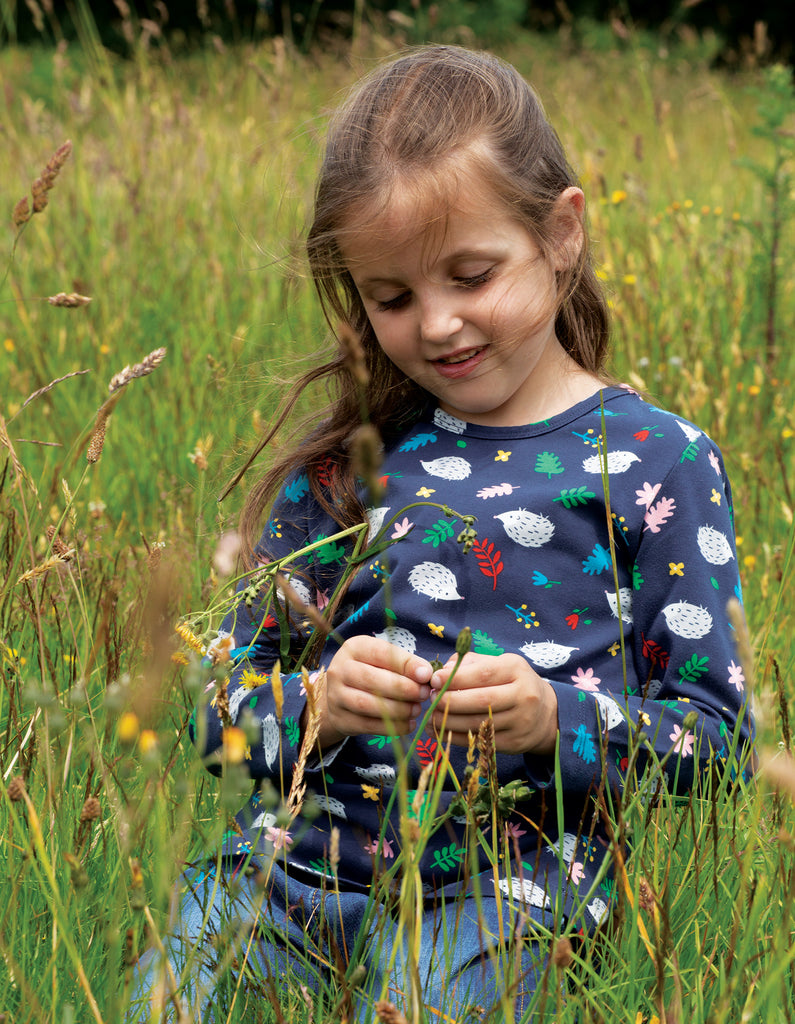 Frugi Bryher Top - Hedgehogs