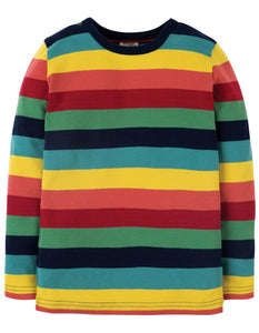 Favourite Long Sleeve Tee - Rainbow Marl Stripe
