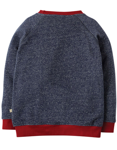 Image of Frugi Jaco Jumper - Indigo Terry/Moose