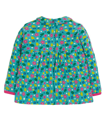 Image of Frugi Bluebird Printed Top - Ditsy Floral - Tilly & Jasper
