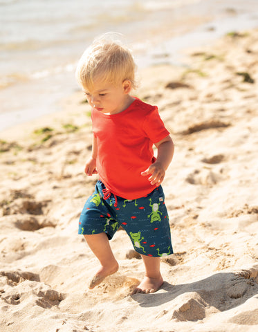 Frugi Favourite T-Shirt - Koi Red