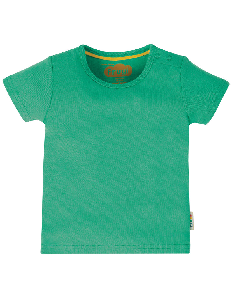 Frugi Favourite T-Shirt - Pacific Aqua