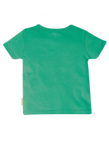 Image of Frugi Favourite T-Shirt - Pacific Aqua