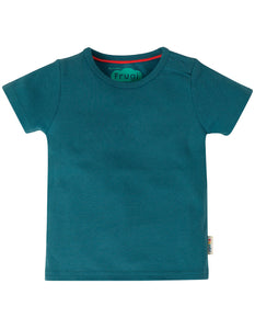 Frugi Favourite T-Shirt - Steely Blue