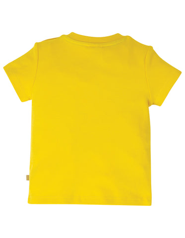Image of Frugi Playdate Tee - Sunflower/Apple