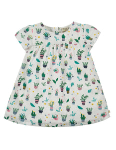 Frugi Meg Muslin Top - Greenhouse - Tilly & Jasper