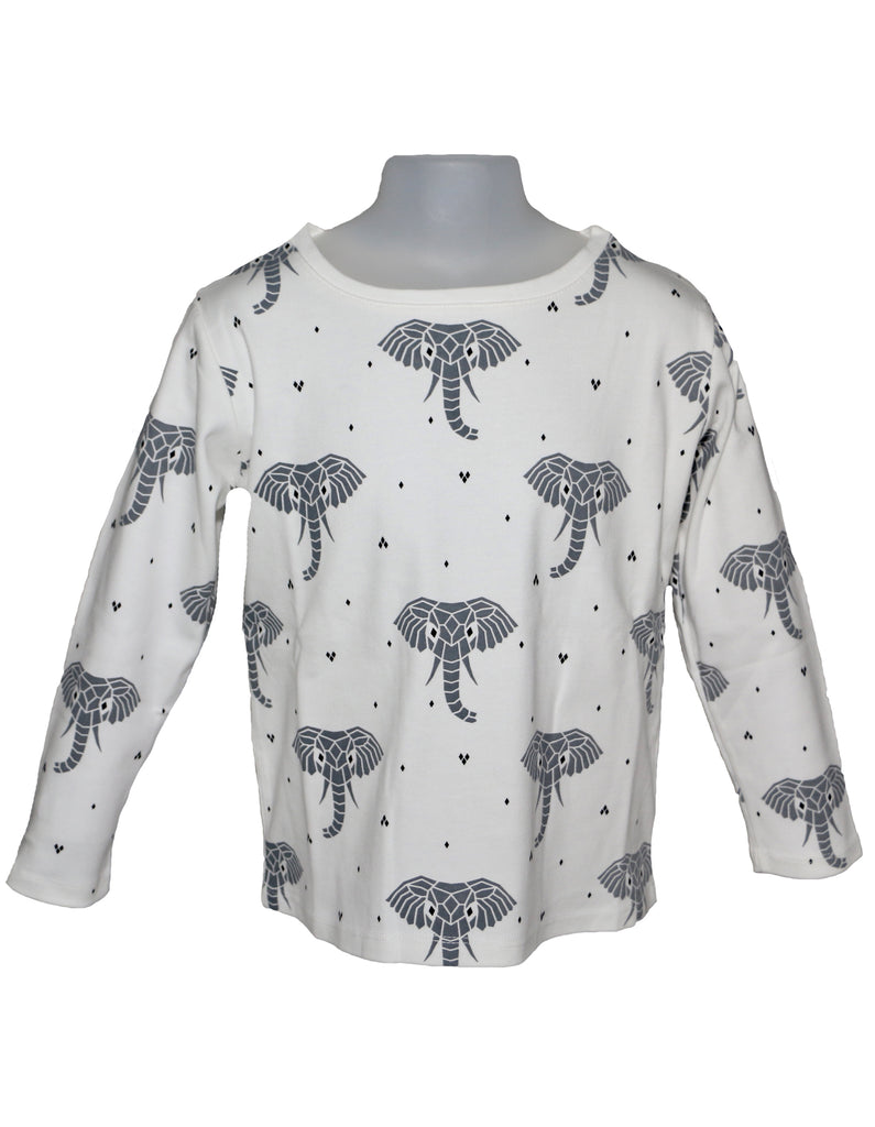 Suindiatic White Elephant Shirt