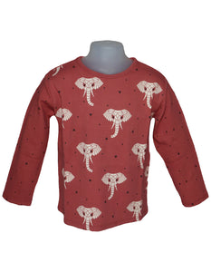 Suindiatic Wine Elephant Sweatshirt