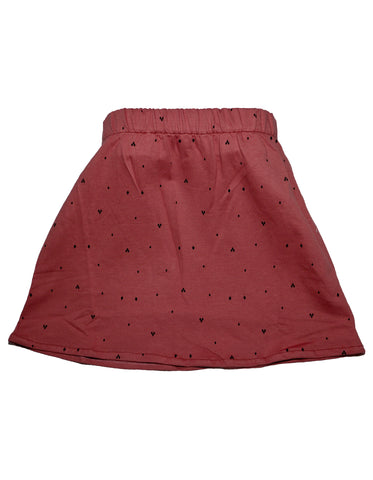 Suindiatic Wine Diamond Skirt