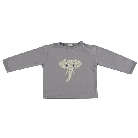 Suindiatic Grey Elephant Sweatshirt