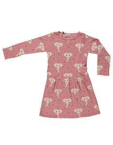 Suindiatic Wine Elephant Dress