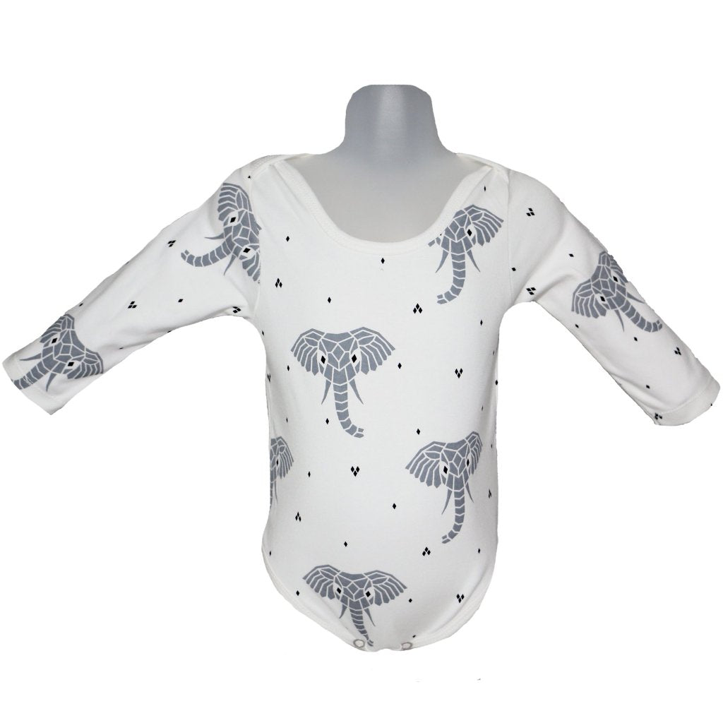 Suindiatic Interlock White Elephant Baby Body