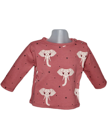 Image of Suindiatic Wine Elephant Baby Sweatshirt