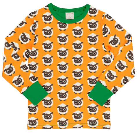Maxomorra Long Sleeve Top - Classic Sheep