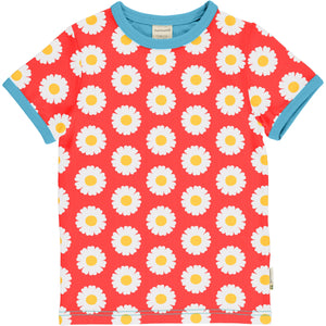 Maxomorra Short Sleeve Top - Daisy