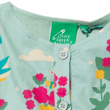 Image of LGR Paradise Birds Dungarees