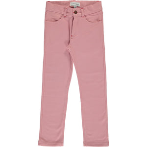 Maxomorra Sweat Softpants - Dusty Pink