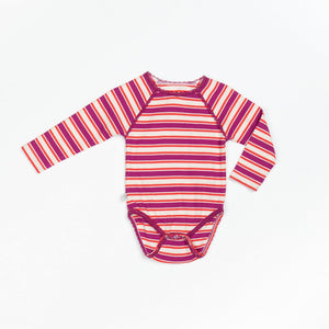 Alba Joice Body - Boysenberry Magic Striped - Tilly & Jasper