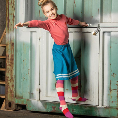 Alba  Tights - Wild Aster Love Stripes