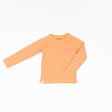 Alba All You Need Tee - Tea Rose Magic Stripe