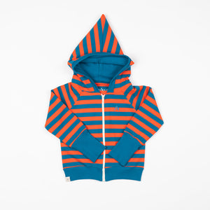 Alba Alltime Zipper Hood - Spicy Orange Magic