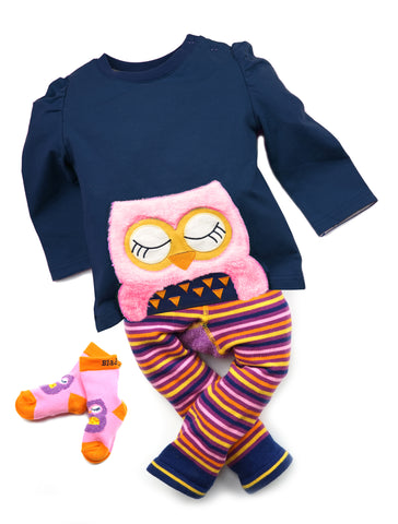 Image of Blade & Rose Socks - Betty Owl