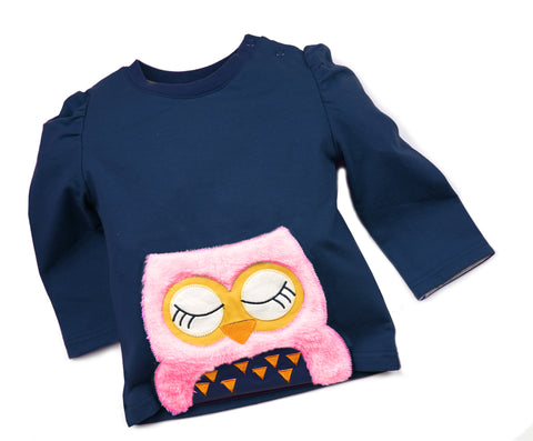 Image of Blade & Rose Top - Betty Owl