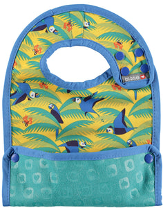 Close Bib Stage 2 -Endangered Jungle Collection - Parrot