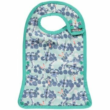 Close Bib Stage 2 -Endangered Animal Collection - Snow Leopard