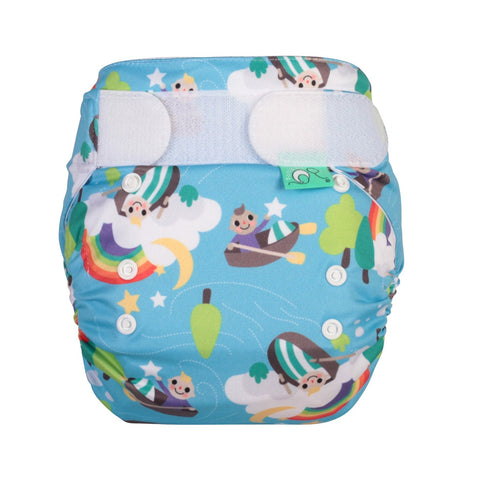 TotsBots Easy Fit Star Nappy - Row Your Boat