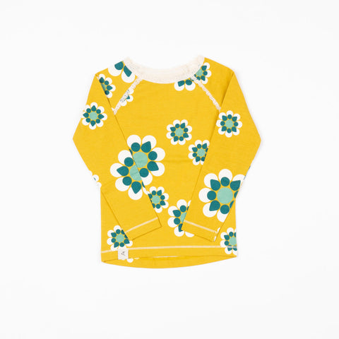 Image of Alba Ghita Blouse - Menthe Flower Heaven