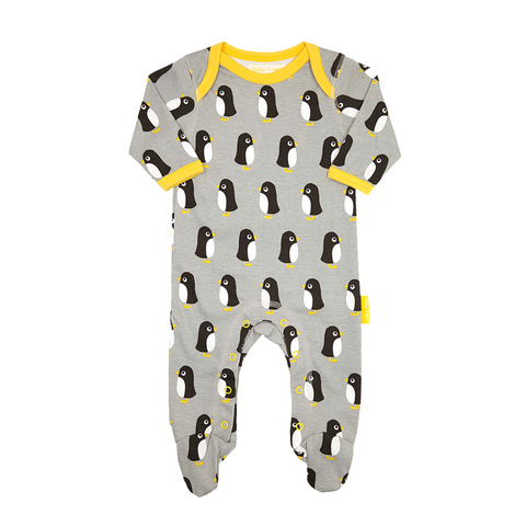 Image of Toby Tiger Penguin Babygrows 2 Pack