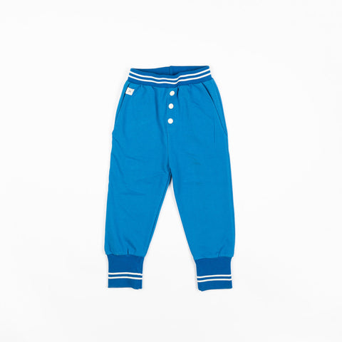 Alba Hai Button Pants - Snorkel Blue