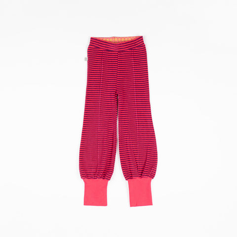 Image of Alba Hami Tight Pants - Raspberry Magic Stripe