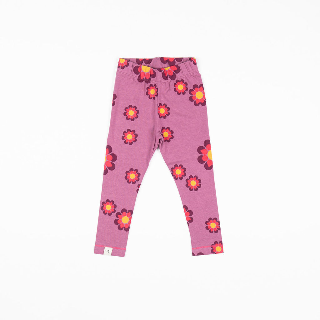 Alba Haniella Leggings - Bordeaux Flower Power