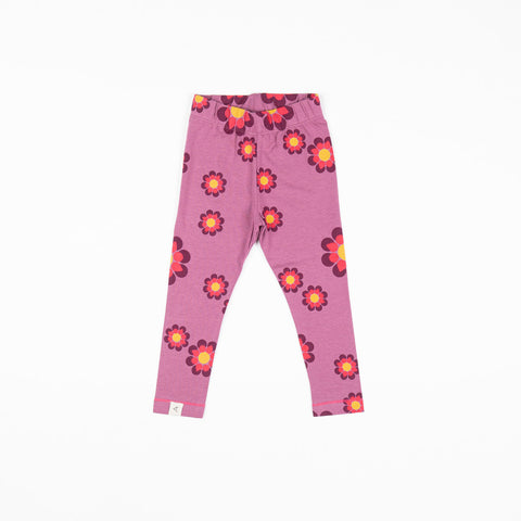 Image of Alba Haniella Leggings - Bordeaux Flower Power