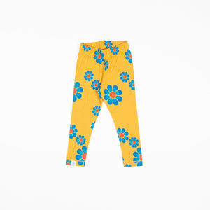 Alba Haniella Leggings - Bright Gold Flower Power