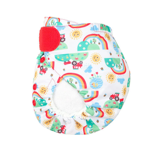Image of TotsBots Easy Fit Star Nappy - Happy Days
