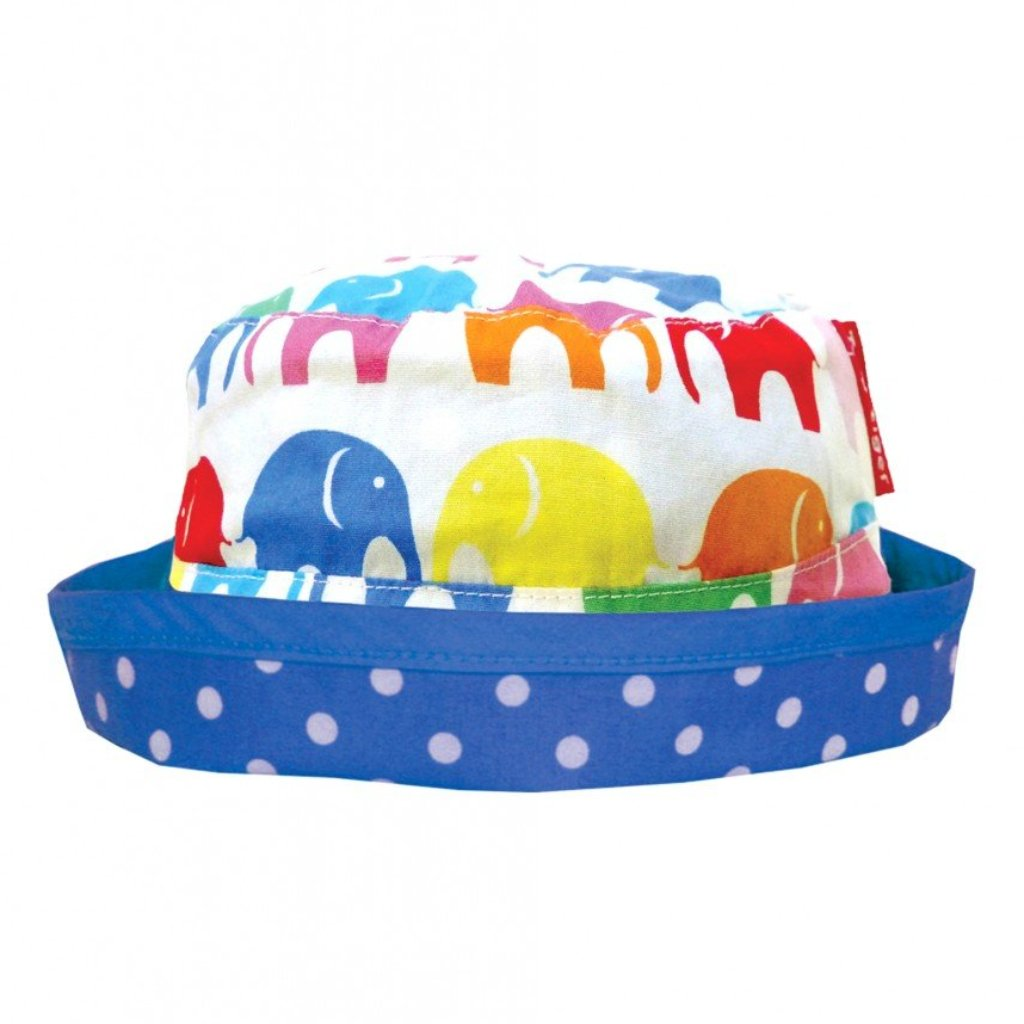Toby Tiger Multi Elly Reversible Sun Hat